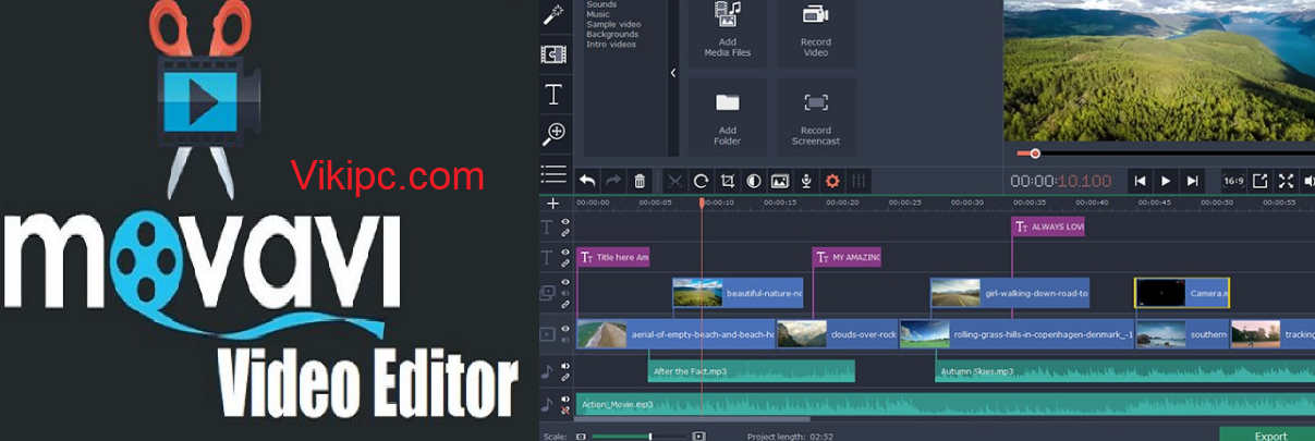 Movavi Video Editor Activation Key