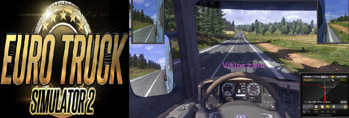 Euro Truck Simulator 2 Crack Full Version Torrent Free Download