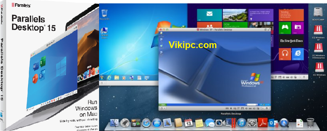 Parallels Desktop 15 Crack 2020 Mac+ Windows Keygen Full Latest