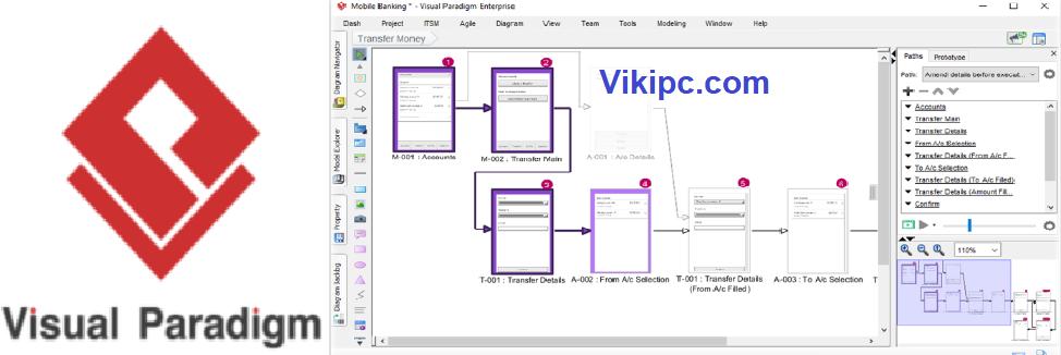 Visual Paradigm Pro 16.1 Crack Incl Serial Key Download Free