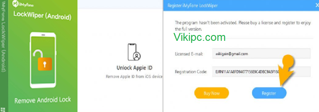 iMyFone LockWiper Serial Key