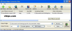 NCH Prism Video File Converter crack
