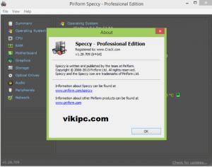 Speccy Pro Key